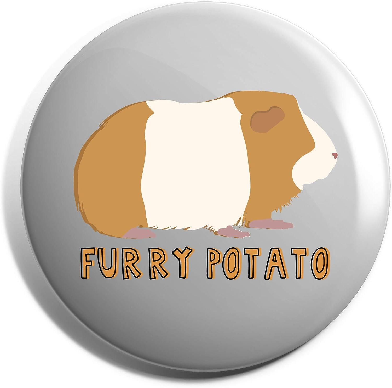 Hippowarehouse POTATO Badge Pin