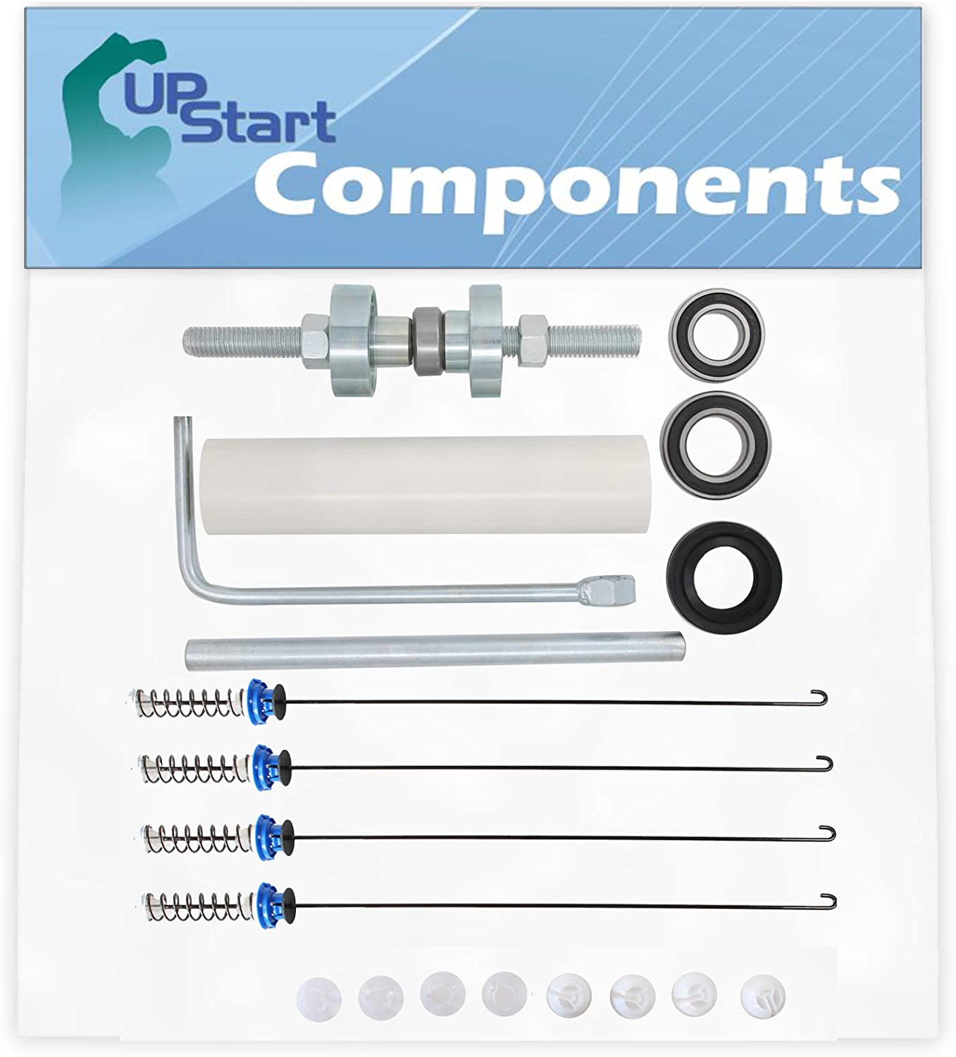 W10447783 Washer Tub Bearing Installation Tool & W10820048 Suspension Rod Kit Replacement for Whirlpool WTW6400SW0 - Compatible W10447783 Tool Kit & W10189077 Suspension Spring Kit
