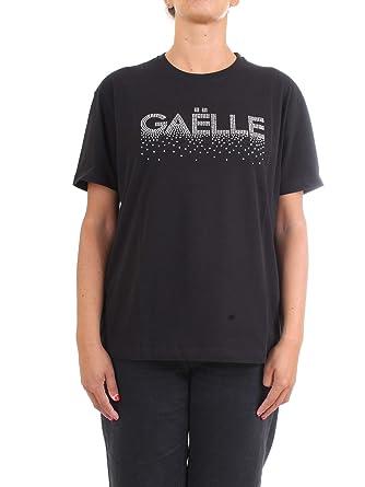 GAELLE PARIS GBD4714 T-Shirt/Polo Mujer Negro 0 (XS): Amazon.es ...