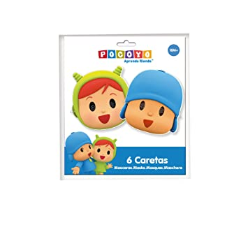 Amazon.com: Pocoyo & Nina Masks: Toys & Games