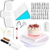 Kit de bicos para confeitar e acessórios 73 peças.