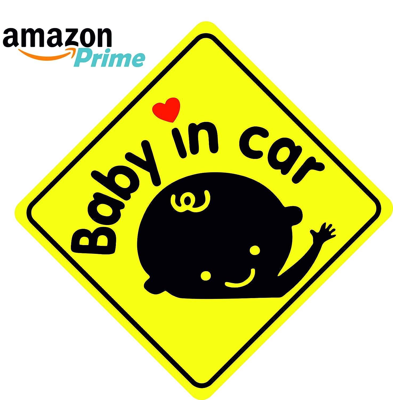 avviso di sicurezza e prudenza Adesivo per auto Bambino a bordo PIC 1 Baby on borad - Diversi Modelli