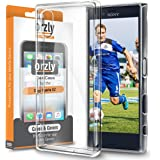 Orzly Case & Covers TRANSPARENT FlexiCase for XPERIA XZ