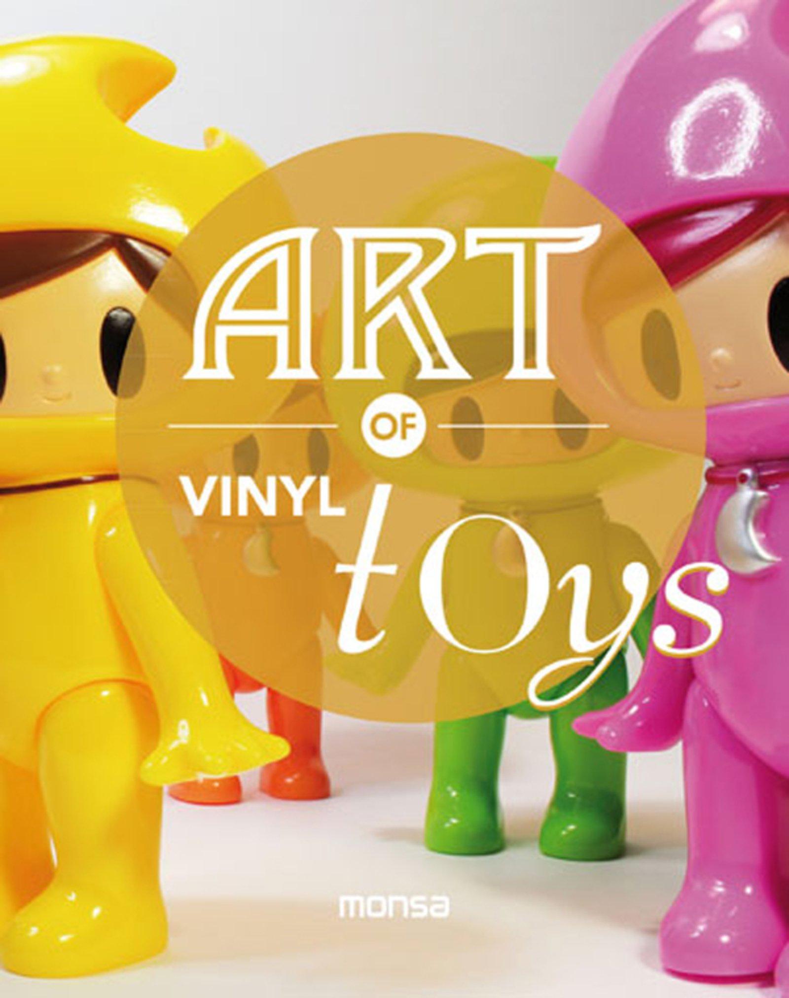 Art of vinyl toys (Inglés) Tapa blanda – 1 jul 2014 aavv Monsa 8415829612 General