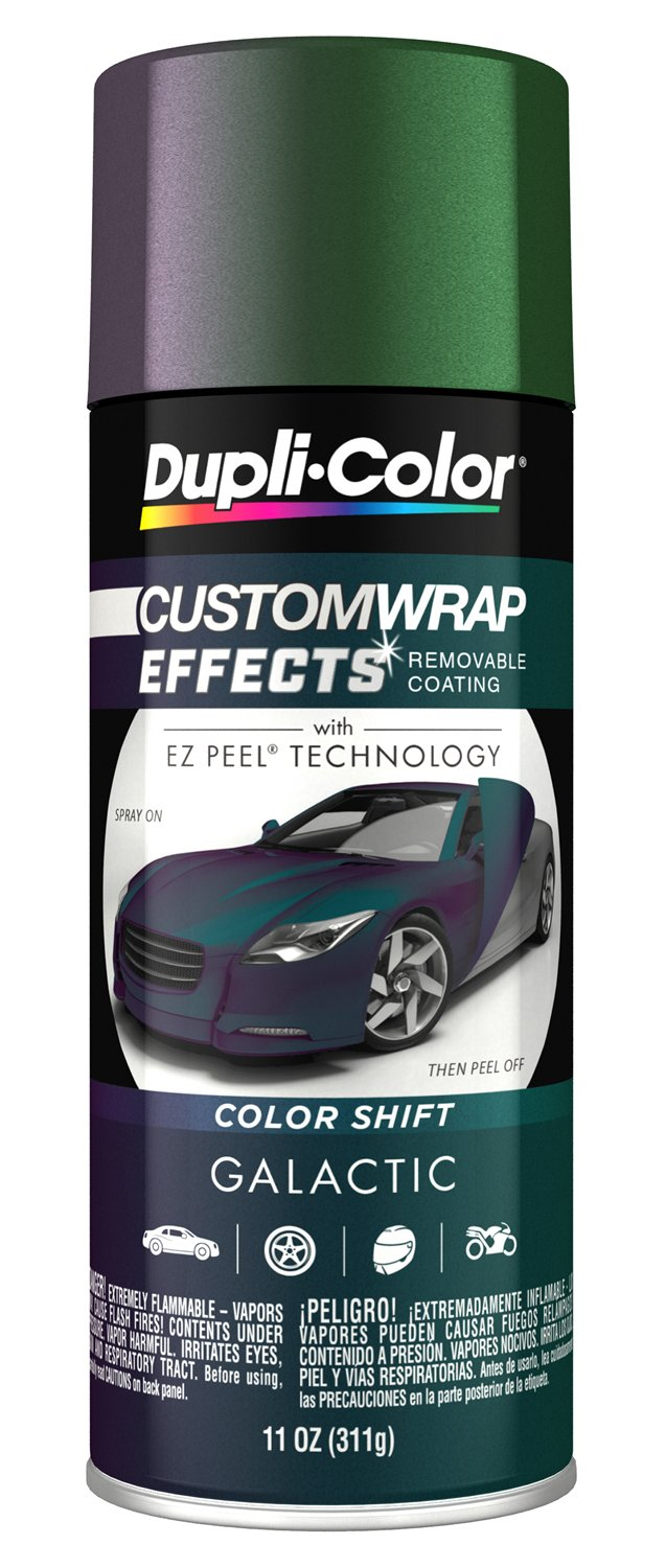 Dupli-Color ECWRC8207 Galactic Custom Wrap Effects Spray Paint (CWRC820 11 Oz)