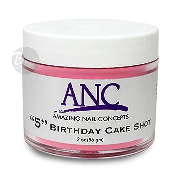 Amazon Com Anc Dip Powder System Birthday Cake Shot 5 2oz Beauty