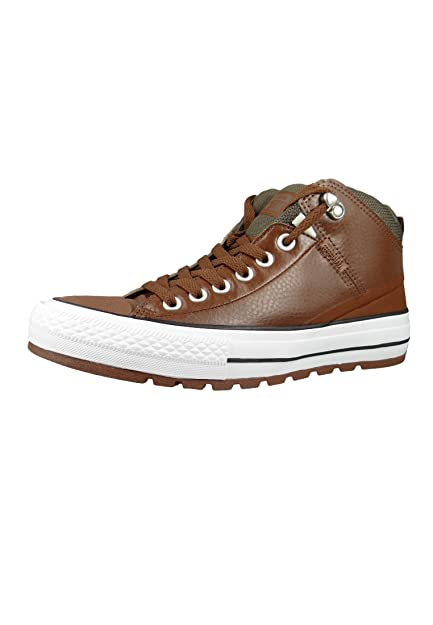 3ed2b4941d8e Converse Womens Chuck Taylor All Star Street Boot Hi Synthetic ...
