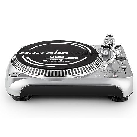 DJ-Tech I-Mix profesional USB tarjeta de sonido: Amazon.es ...