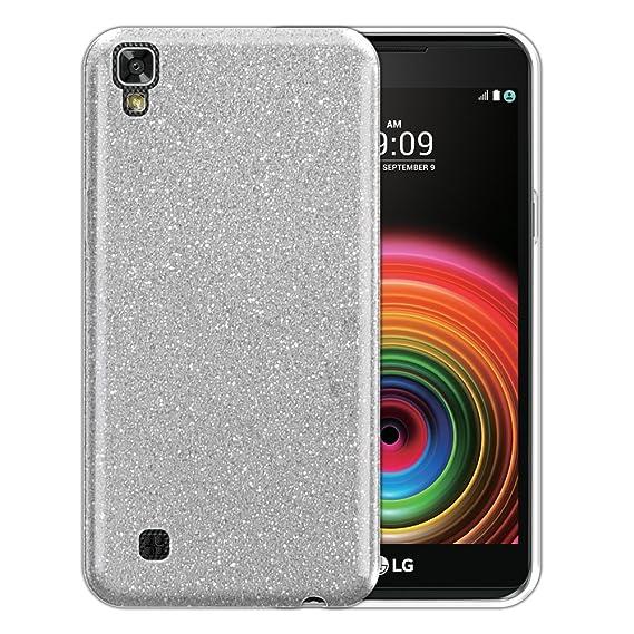 new style 61518 fbf5d Amazon.com: FINCIBO LG X Power LS755 Case, Shiny Sparkling Bling ...