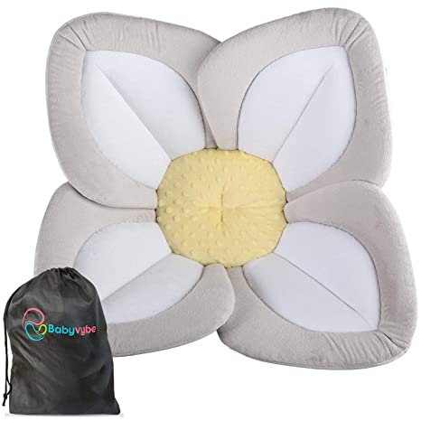 Amazon.com : BABYVYBE Baby Bath Sink Insert Lotus Flower for Infant/Newborn - Soft Cushion Fits Bathtub & Kitchen Sink - Unisex Baby Pillow Makes a Great Gift : Baby