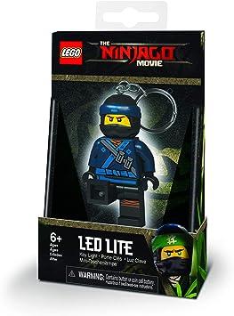 Iq Lego Porte Clé Lumineux Ninjago Jay Lgke108j
