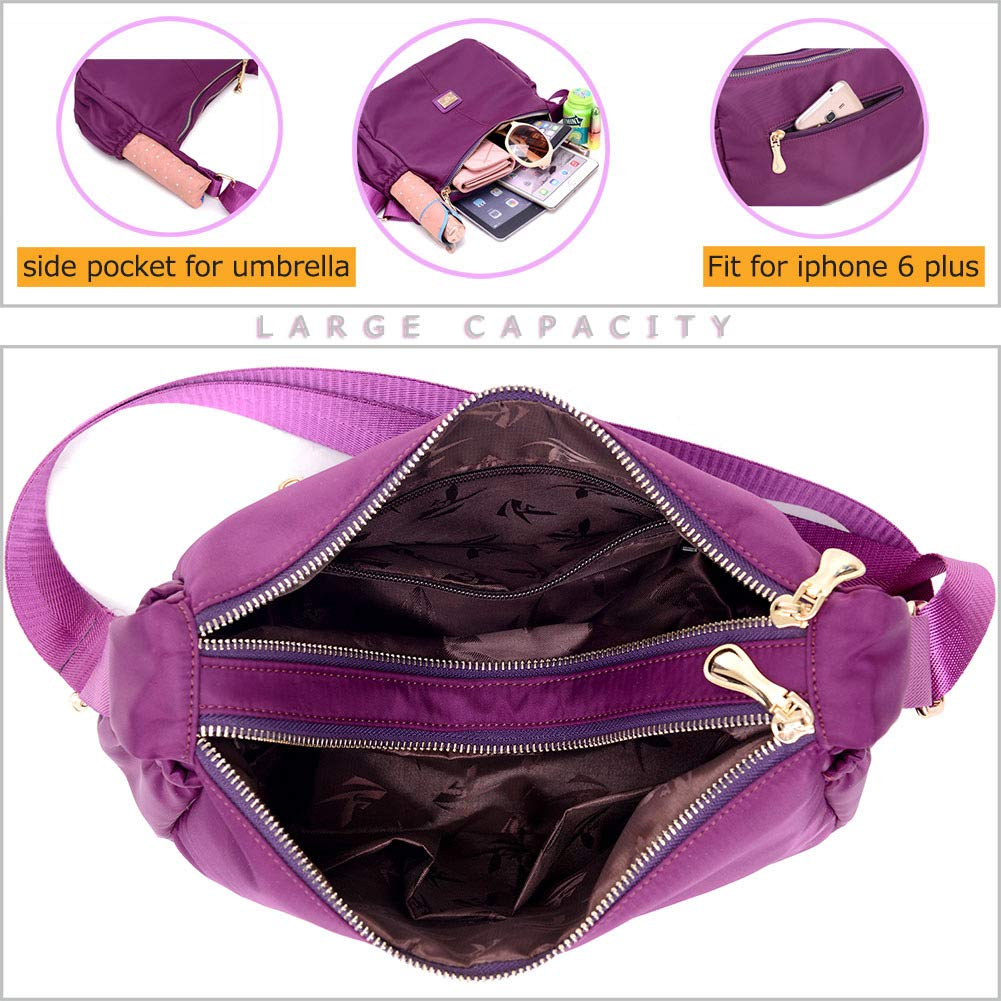 women's crossbody bags Cheap Shoulder Bag Stylish Ladies Messenger Bags Purse and Handbags by ACLULION (Image #5)