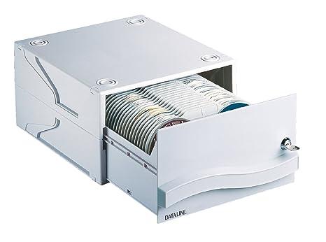 Esselte Cajón archivador para CDs con cerradura, Capacidad para 120 CDs o DVDs, 29
