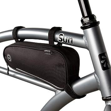 New Black Sunlite Epic Tour Water Resistant Bicycle Frame Bag 1.3 Liter