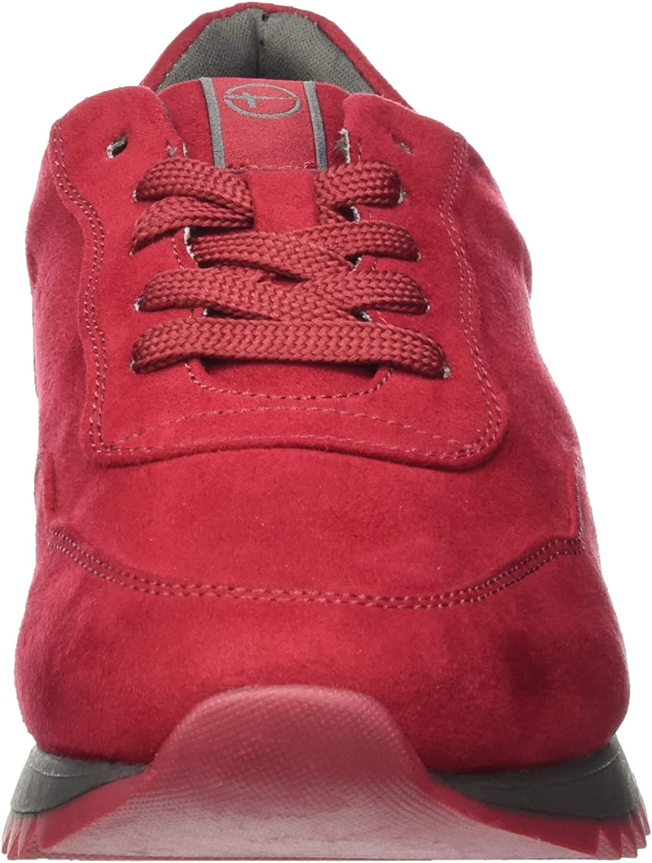 Tamaris 1-1-23606-25, Basket Femme Rouge