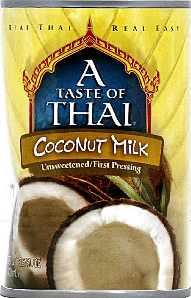 A Taste of Thai Gluten Free Coconut Milk, Original, 13.5 Ounce (Pack of 12)