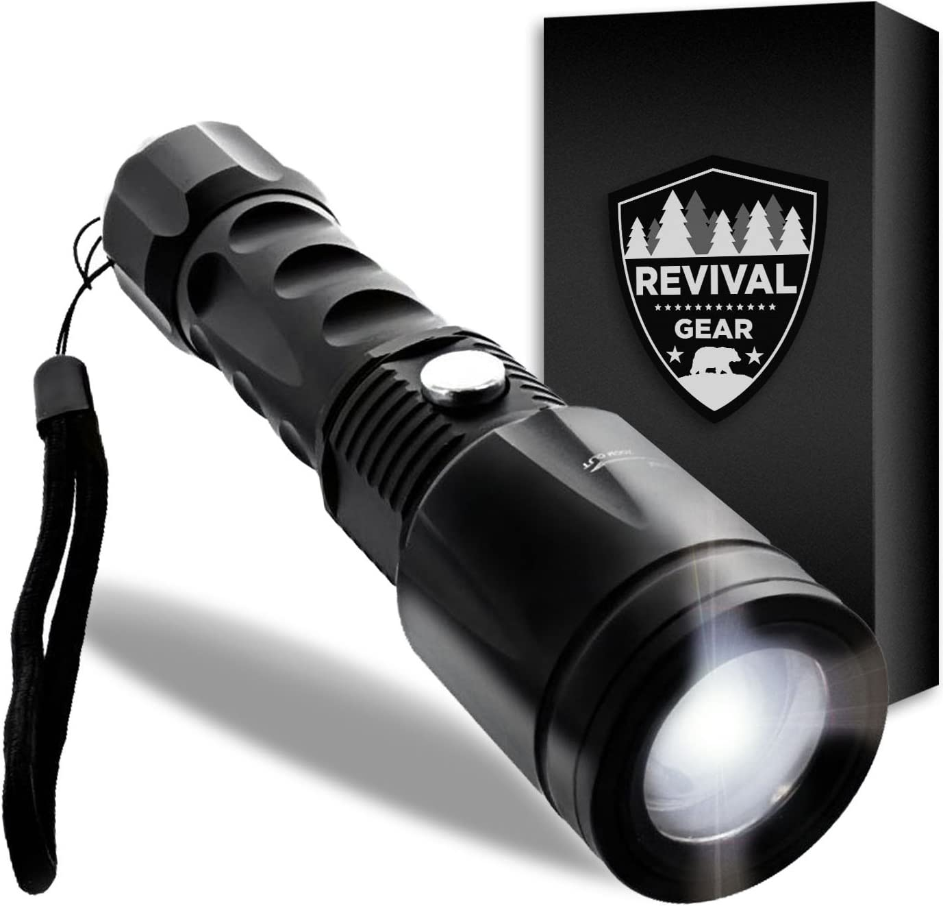Details about  /10PC Tactical Outdoor LED Lamp Flashlight Torch 200000LM Zoomable 5 Modes AR