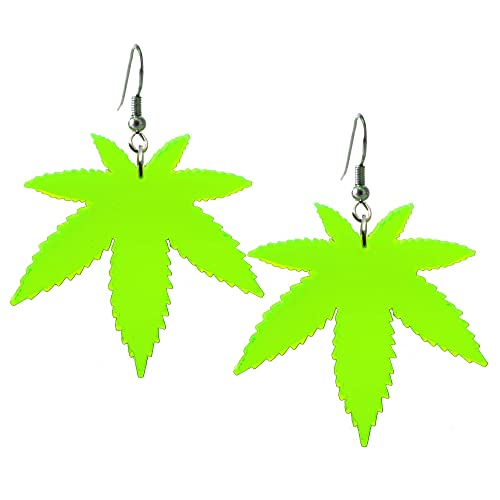 Gnome Earrings Marijuana Earrings Cannabis Jewelry Marijuana Gnome
