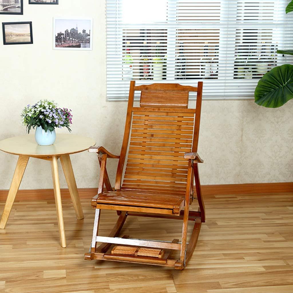Amazon.com: Sillas para el hogar, para adultos, de bambú ...
