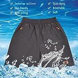 Gititlys Men's Sport Shorts with Pockets Lightweight