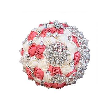 Amazon Com Unique Shop Vintage Brooch Bouquet Lace Handle Bridal