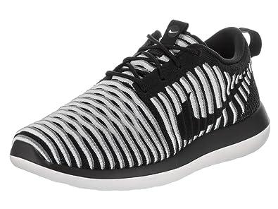 Nike Wmns Roshe Two Flyknit Black Black White Cool