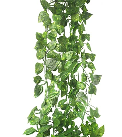 Home & Garden Artificial Decorations Artificial Vine Rattan Fake Leaves Plant For Wedding Garland Home Party Decor