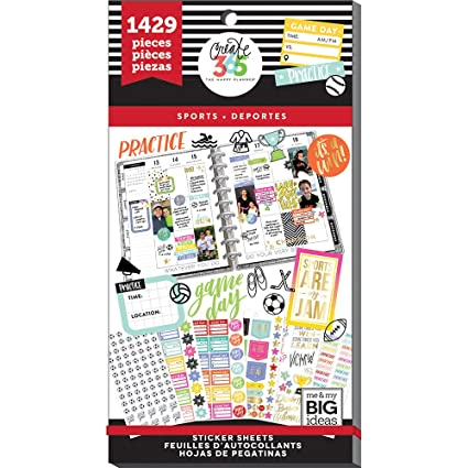 me & my BIG ideas PPSV-55-3048 Value Pack Stickers, Multicolor
