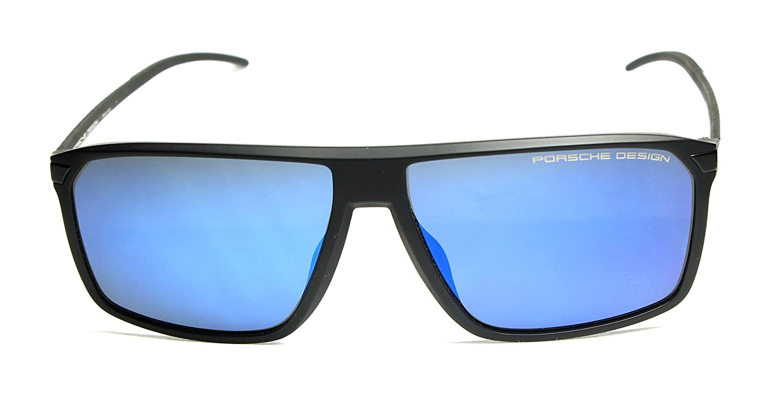 df7483364419 Porsche Design P 8653 BLACK BLUE men Sunglasses  Amazon.co.uk  Clothing
