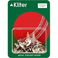 Kilter Replacement Metal Cricket Spikes With Spanner