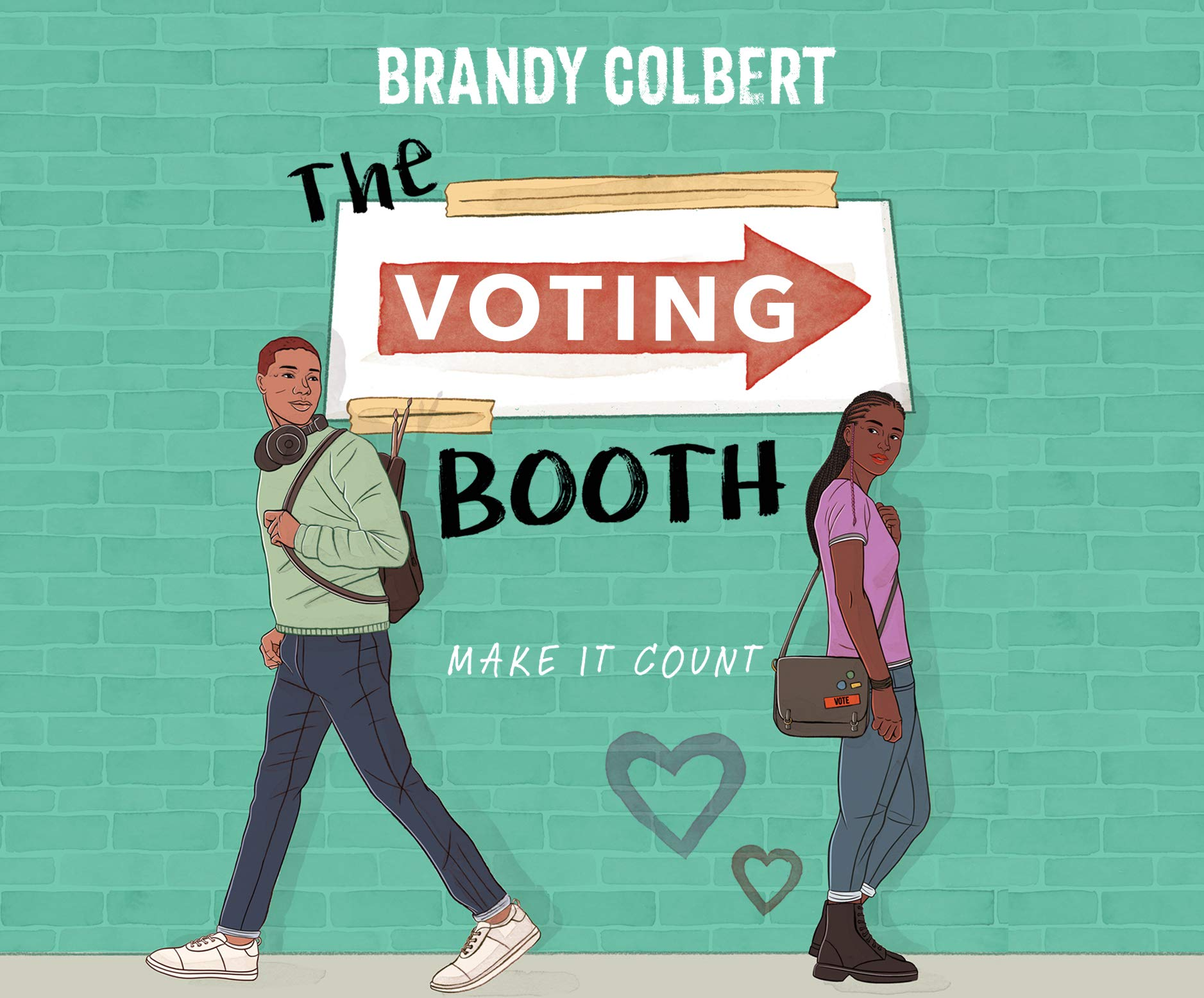 Amazon.com: The Voting Booth (9781662003936): Colbert, Brandy, Eller,  Robin, Hite, Cary: Books
