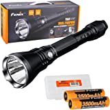 Fenix TK47UE Ultimate Edition 3200 Lumen LED Tactical Flashlight w/2x high capacity 3500mAh 18650 batteries and LumenTac Battery Organizer