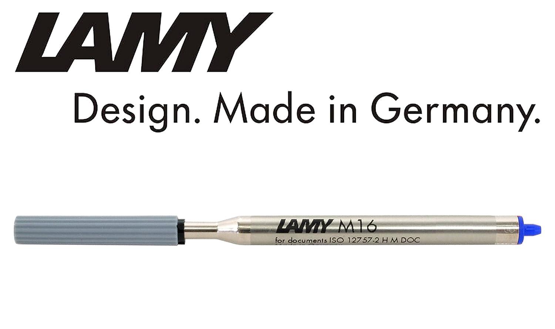 4 x Lamy M16/M Azul Mina para Lamy Ball Point Pen 1