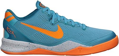 Ventilación Flojamente extraer  Nike Kobe 8 System (GS) Baltic Blue & Bright Citrus (7Y GS): Amazon.ca:  Shoes & Handbags