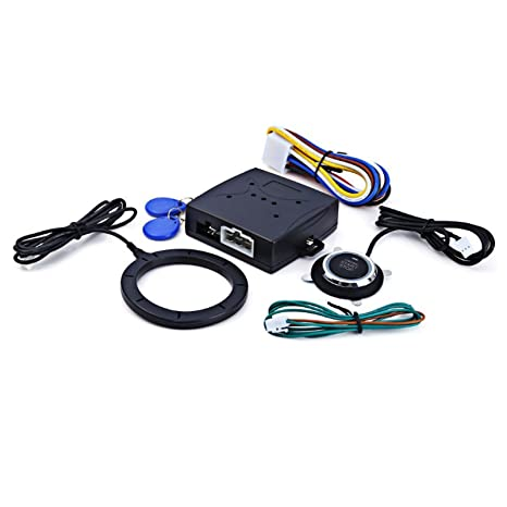 reusious Smart RFID sistema de alarma de coche Motor Empuje ...