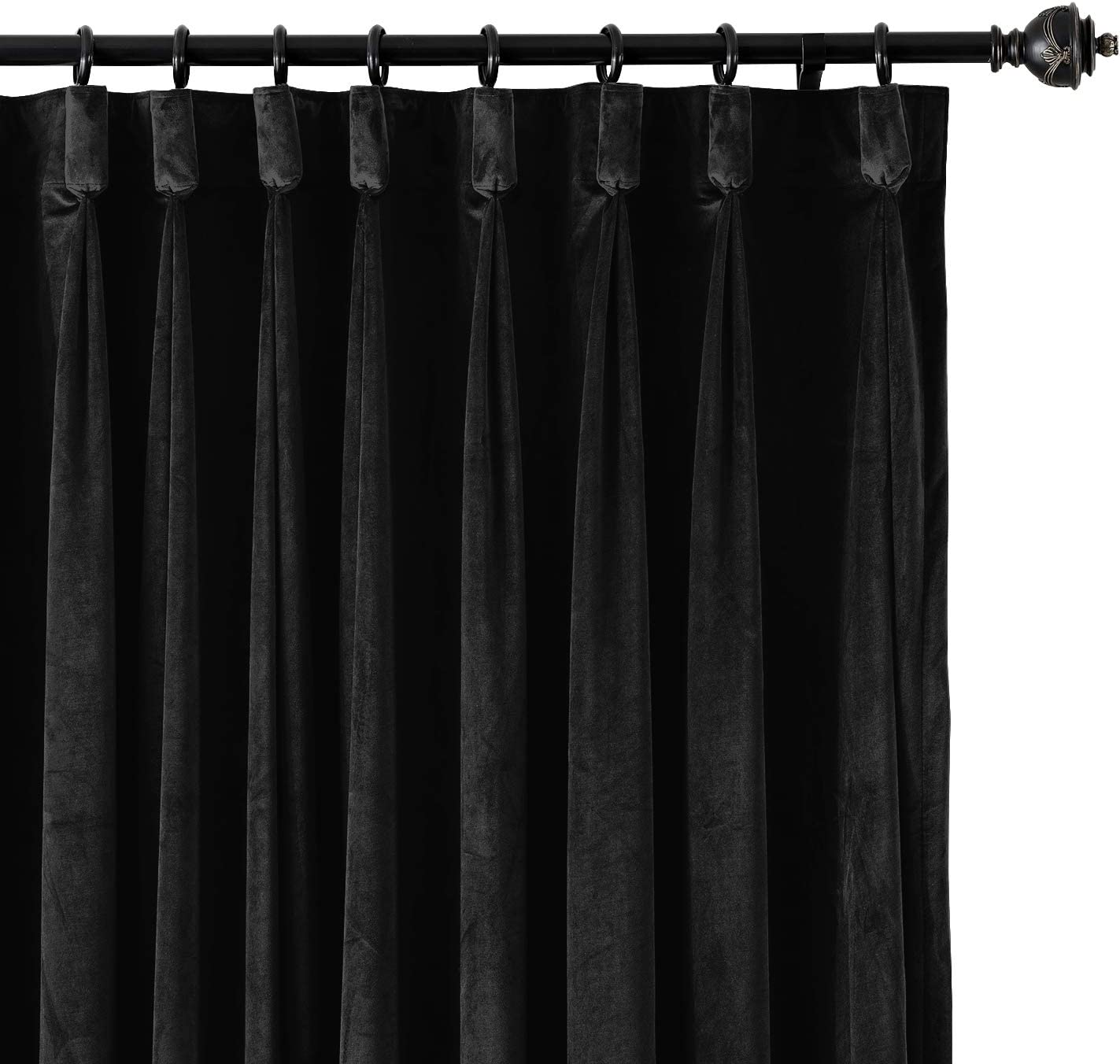 ChadMade Goblet 120W x 84L Velvet Drapery Lined Blackout Spring new work one after San Francisco Mall another Curtain