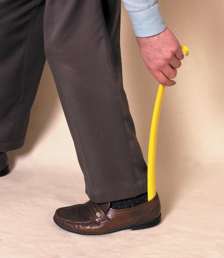 Chausse-pied avec Long manche / Corne pour enfiler les chaussures HealthLand