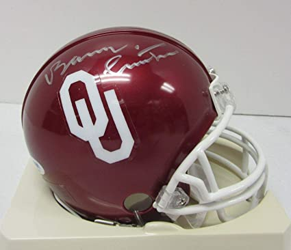 Amazon.com  Bob Stoops Signed Autographed Oklahoma Sooners Mini ... e0b2c8cf4