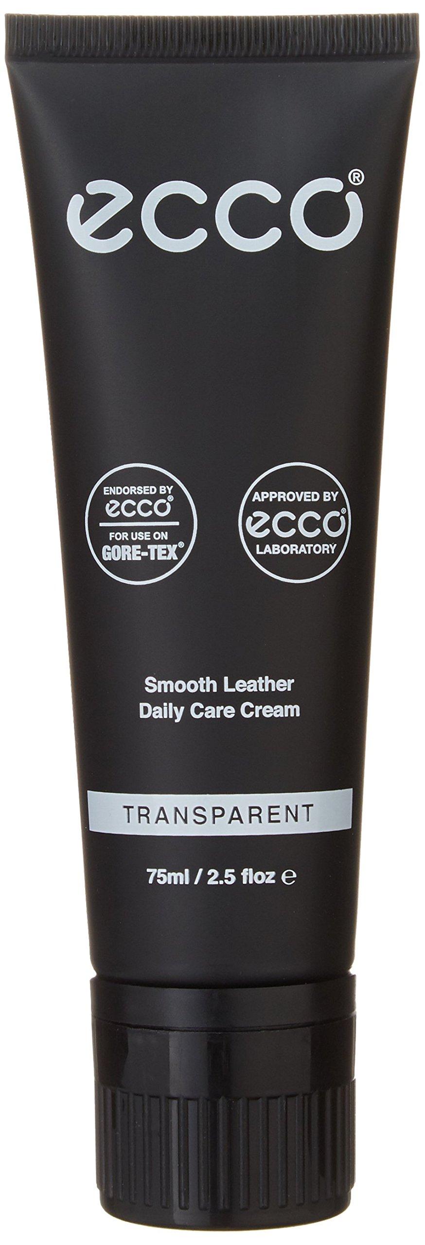 ECCO Smooth Leather Care Cream Shoe Polish, Transparent, One Size Regular US