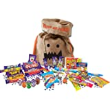 British Halloween Trick Or Treat Candy Bag | 15 Cadbury's Chocolate Bars & 8.8 oz English Retro Candy Mix Assortment Cadbury Variety