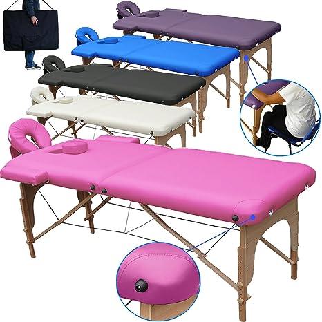 Lettino Da Massaggio Roma.Lettino Da Massaggio Lettini Per Massaggi 2 Zone Legno Portatile Pesa Solo 12 8 Kg Richiudibile Pannello Reiki Angoli Arrotondati E Rinforzati