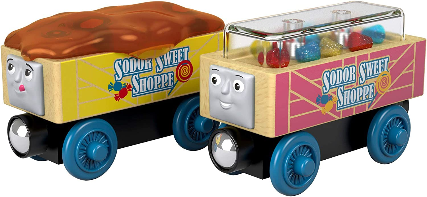 Thomas & Friends Fisher-Price Wood, Candy Cars