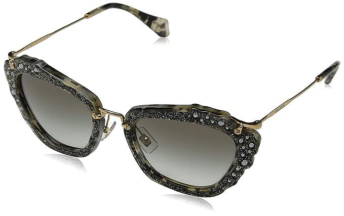 b6227313e90a Miu Miu Women s 0MU04QS DHE0A7 55 Sunglasses