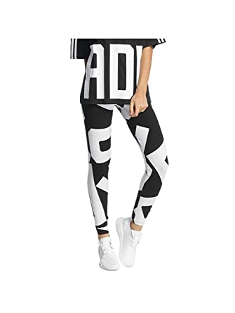 6464bfe7bf8835 adidas didas Originals Bold Age Letters Damen Leggings Sport Tight Yoga  Fitness Hose, Größe:
