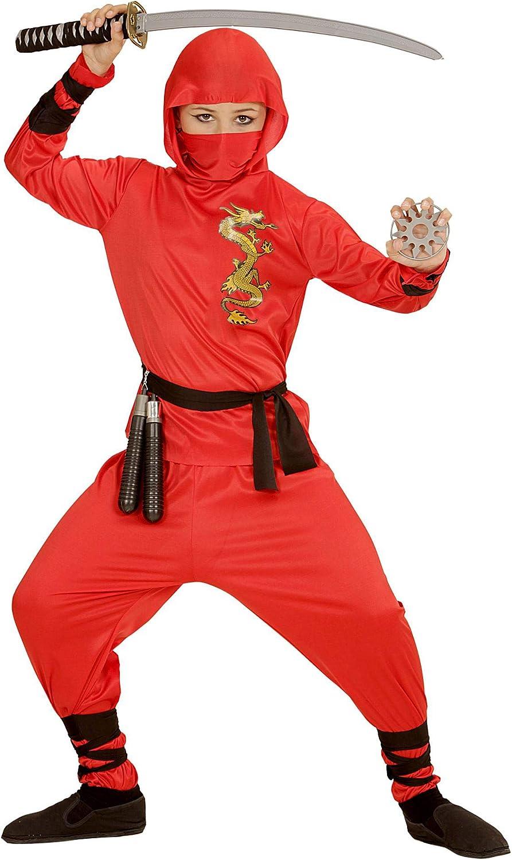 NINJA Costume Per Bambini Arti Marziali Ninja Costume Outfit Età 4-12