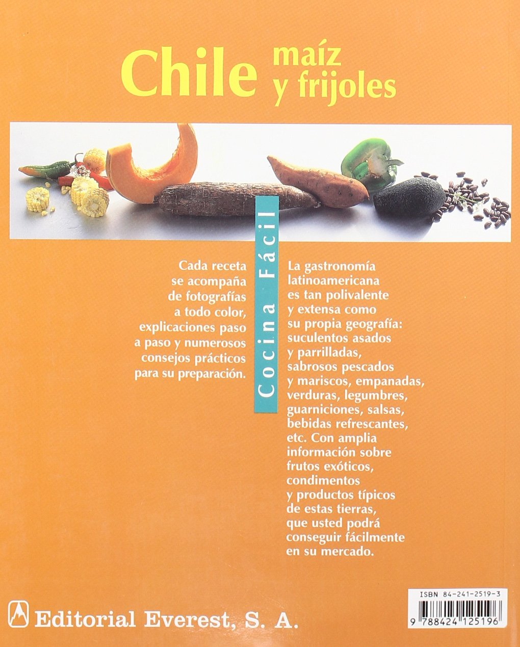 Chile, Maiz y Frijoles: Cornelia Zingerling: 9788424125196: Amazon.com: Books