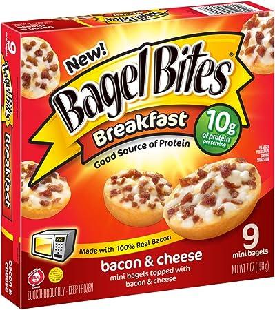 Bagel Bites Bacon And Cheese Breakfast Bites 9 Count Frozen