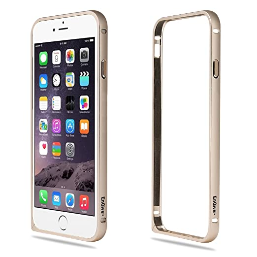 "28 opinioni per EnGive- Cover Ultra Slim bumper, in alluminio, per iPhone 6 Bumper (4.7""),"