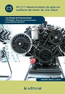 Mantenimiento de sistemas auxiliares del motor de ciclo diesel (Spanish Edition)