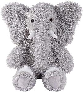 Vermont Teddy Bear Stuffed Elephant - Oh So Soft Elephant Stuffed Animal, Plush Toy, Gray, 18 Inch